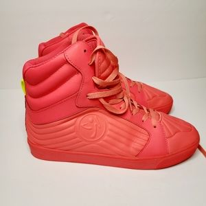 Pink Zumba Shoes Sneakers size 10
